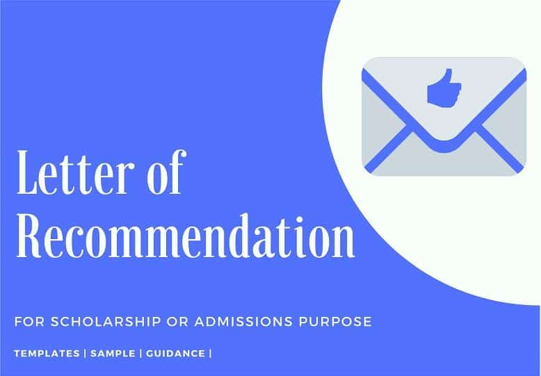 How to Write a Scholarship Letter of Recommendation (2021 Edition)