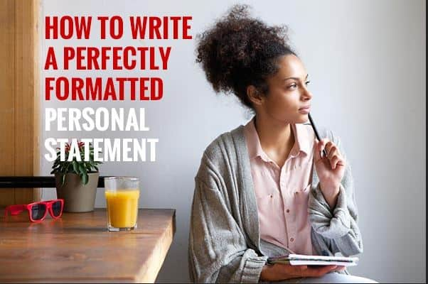 How to Write an Amazing Personal Statement