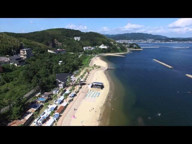 Beaches in Japan Kira Waikiki Beach of Aichi