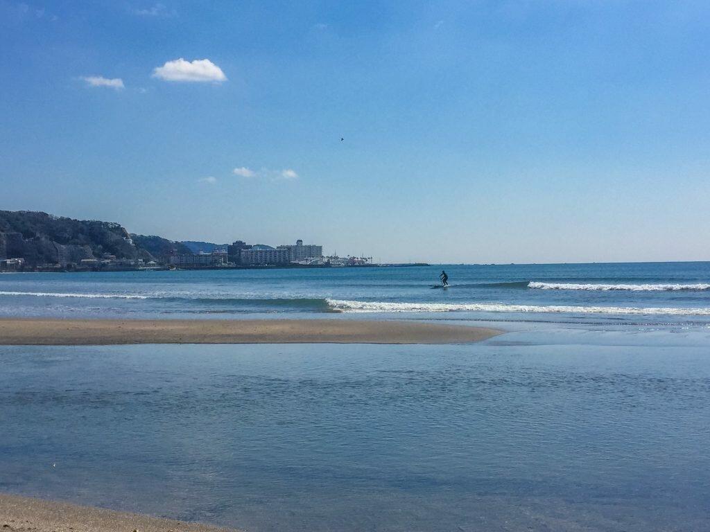 Beaches in Japan-Yuigahama-beach