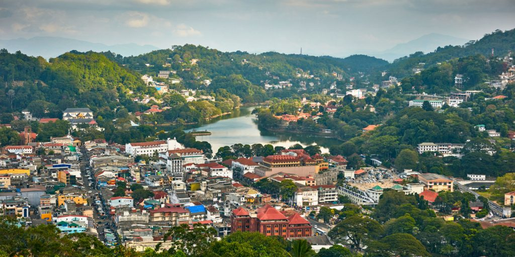 Kandy-city-Sri-Lanka -  Places To Visit In Asia