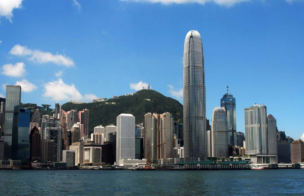 Skyline-Hong-Kong Places To Visit In Asia